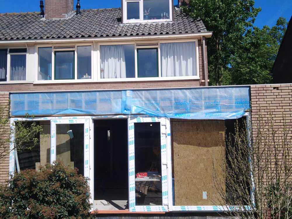 Koeleman Bouw aanbouw Joost van Vondelstraat Uithoorn