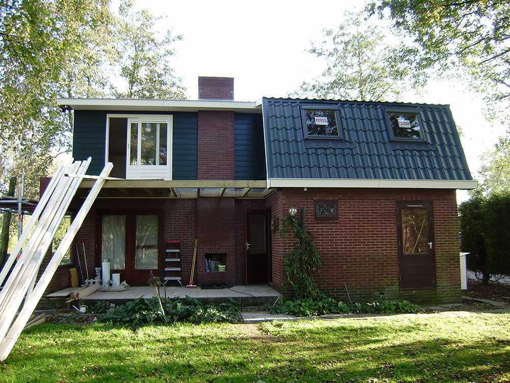 Koeleman Bouw dakopbouw zomerwoning vakantiepark Dolce Vita Zevenhoven
